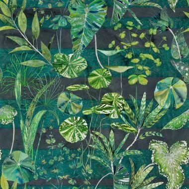 Textil Arjuna  - Leaf Viridian