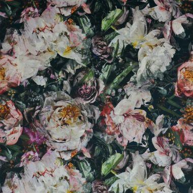 Textil Fleur de Nuit - Noir