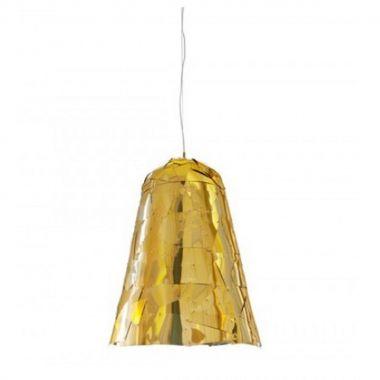 Lustra Campana Gold
