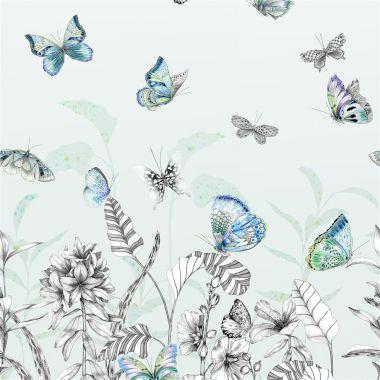 Tapet Papillons Eau De Nil